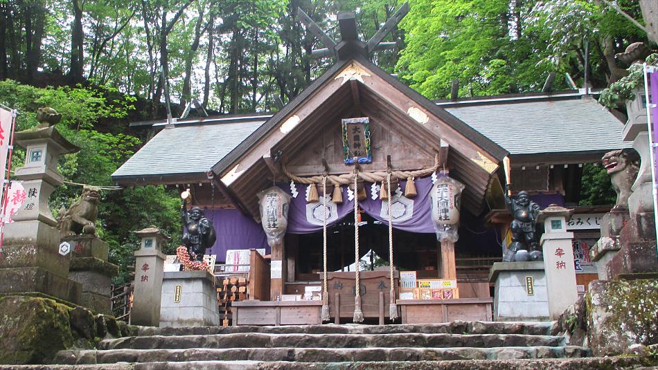 中之嶽大国神社社殿(前宮)イメージ